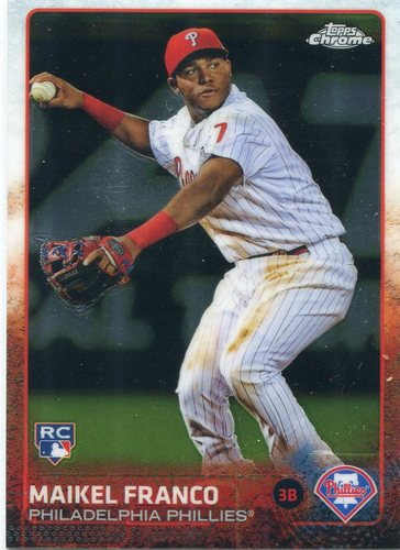 Photo of 2015 Topps Chrome #101 Maikel Franco RC
