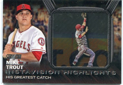 Photo of 2016 Stadium Club Instavision #IV1 Mike Trout