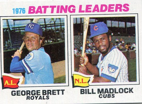 Photo of 1977 Topps #1 Batting Leaders/George Brett/Bill Madlock