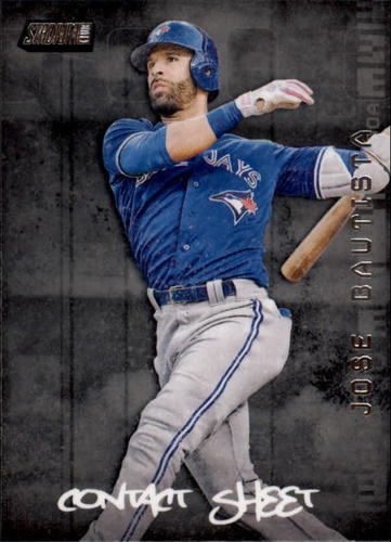 Photo of 2017 Stadium Club Contact Sheet #CSJB Jose Bautista