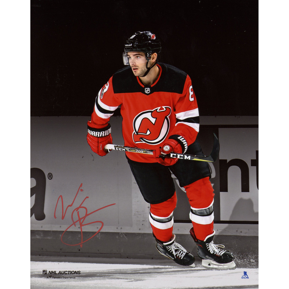 Will Butcher New Jersey Devils Autographed 8