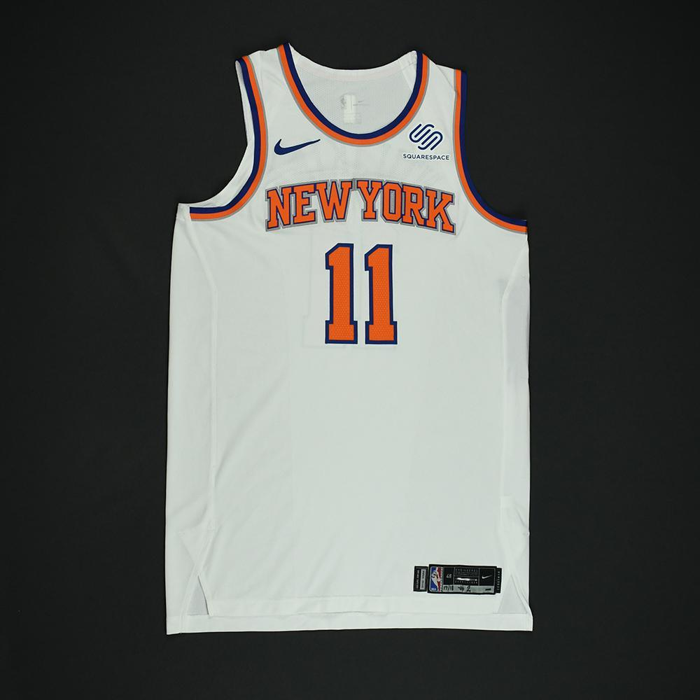 Frank Ntilikina - New York Knicks - NBA Christmas Day '17 Game-Worn Jersey