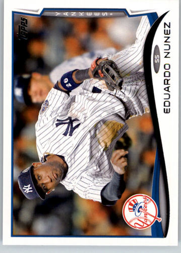 Photo of 2014 Topps #246 Eduardo Nunez