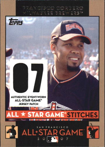Photo of 2007 Topps Update All-Star Stitches #FC Francisco Cordero