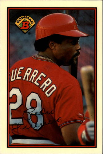 Photo of 1989 Bowman Tiffany #440 Pedro Guerrero