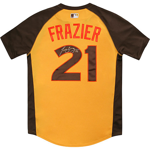 Photo of Todd Frazier 2016 Major League Baseball Workout Day/Home Run Derby Autographed Jersey