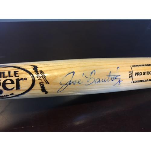 Photo of Giants Community Fund: Jose Bautista Autographed Bat