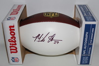 NFL - COLTS MIKE ADAMS SIGNED PANEL BALL