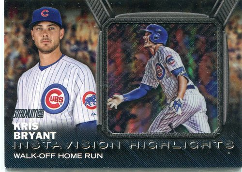 Photo of 2016 Stadium Club Instavision #IV2 Kris Bryant