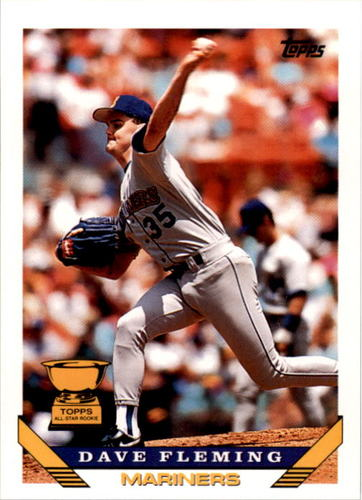 Photo of 1993 Topps #45 Dave Fleming