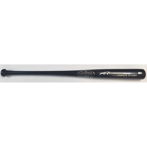 Photo of Jean Segura Autographed Black Louisville Slugger Bat
