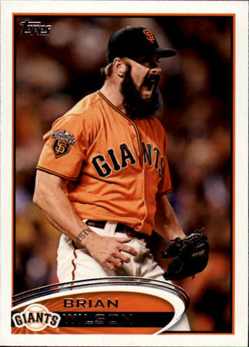 Photo of 2012 Topps #260 Brian Wilson