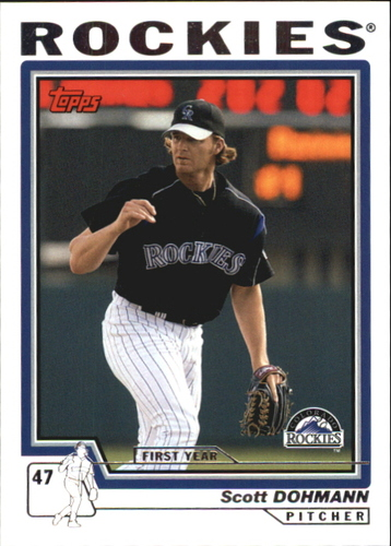Photo of 2004 Topps Traded #T147 Scott Dohmann FY RC