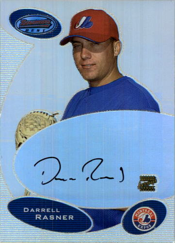 Photo of 2003 Bowman's Best #DR Darrell Rasner FY AU RC