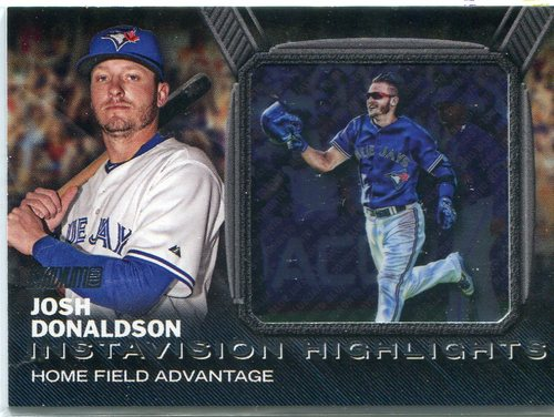 Photo of 2016 Stadium Club Instavision #IV8 Josh Donaldson