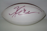 DOLPHINS - KNOWSHON MORENO SIGNED PANEL BALL (INK MARKS ON BALL)