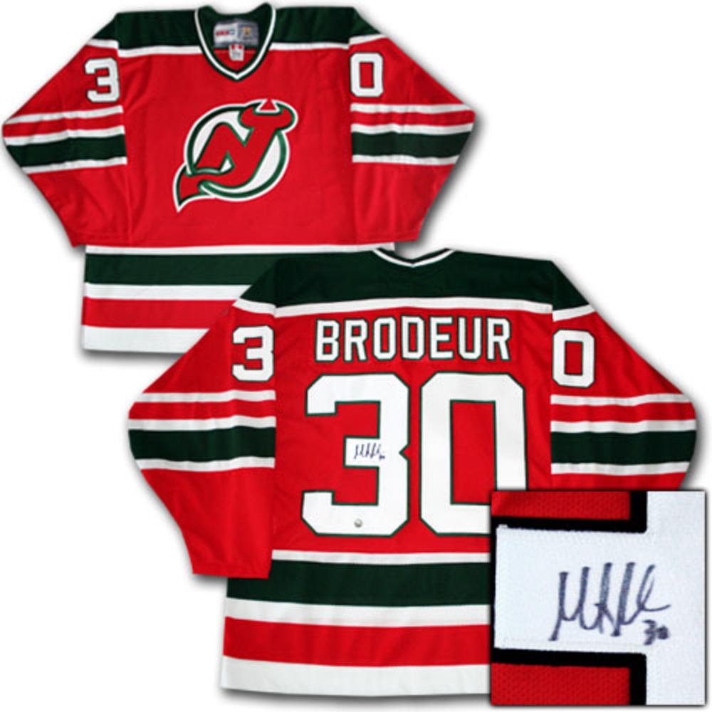 Martin Brodeur Autographed New Jersey Devils Vintage Jersey