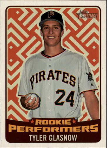 Photo of 2017 Topps Heritage Rookie Preformers #RPTG Tyler Glasnow
