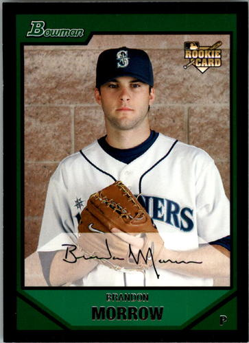 Photo of 2007 Bowman Draft #BDP13 Brandon Morrow Rookie Card -- Dodgers post-season