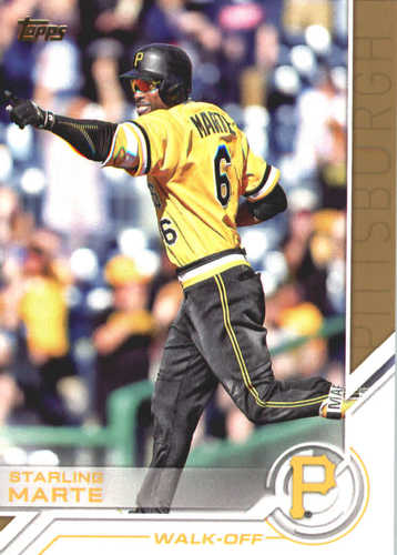 Photo of 2017 Topps Update Salute #USS37 Starling Marte