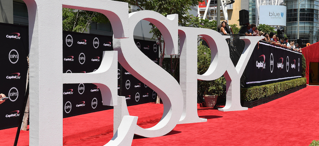 THE ESPYS WITH RED CARPET & AFTER PARTY ACCESS  - PACKAGE 1 of 4