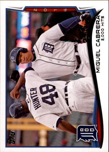 Photo of 2014 Topps Update #US300 Miguel Cabrera