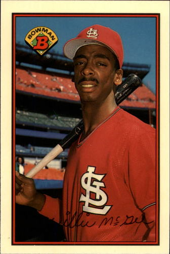 Photo of 1989 Bowman Tiffany #442 Willie McGee