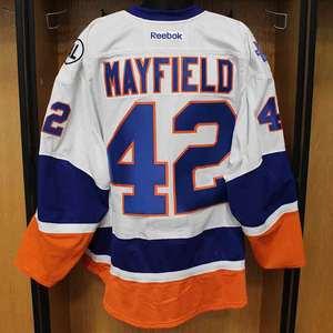 Scott Mayfield - Game Worn Away Jersey - 2015-16 Season - New York Islanders