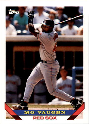 Photo of 1993 Topps #51 Mo Vaughn