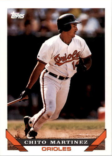 Photo of 1993 Topps #772 Chito Martinez