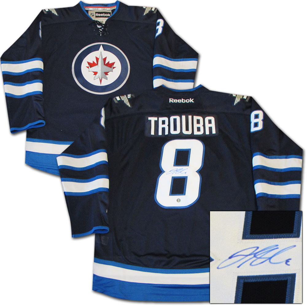 Jacob Trouba Autographed Winnipeg Jets Jersey