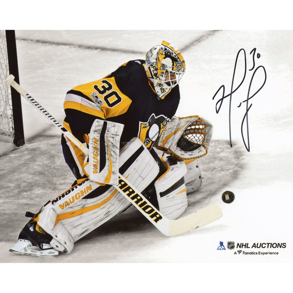 Matt Murray Pittsburgh Penguins Autographed 8