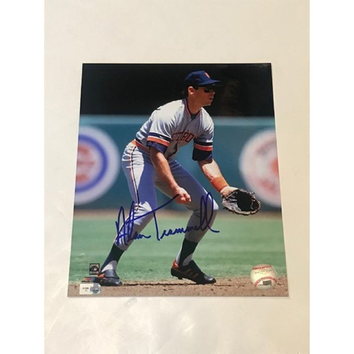 Detroit Tigers Alan Trammell Autographed 8x10 Photo