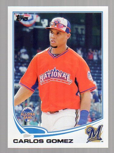 Photo of 2013 Topps Update #US20 Carlos Gomez