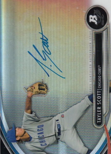 Photo of 2013 Bowman Platinum Prospect Autographs #TS Tayler Scott