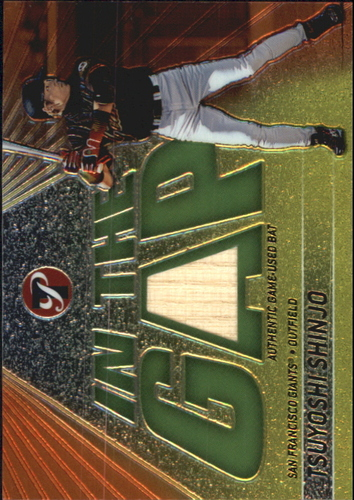 Photo of 2002 Topps Pristine In the Gap #TS Tsuyoshi Shinjo Bat B