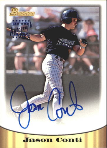 Photo of 1998 Bowman Certified Blue Autographs #56 Jason Conti