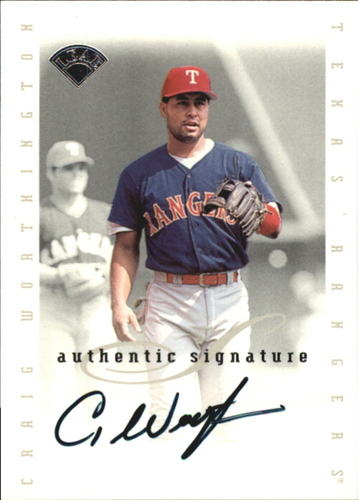 Photo of 1996 Leaf Signature Extended Autographs #217 Craig Worthington