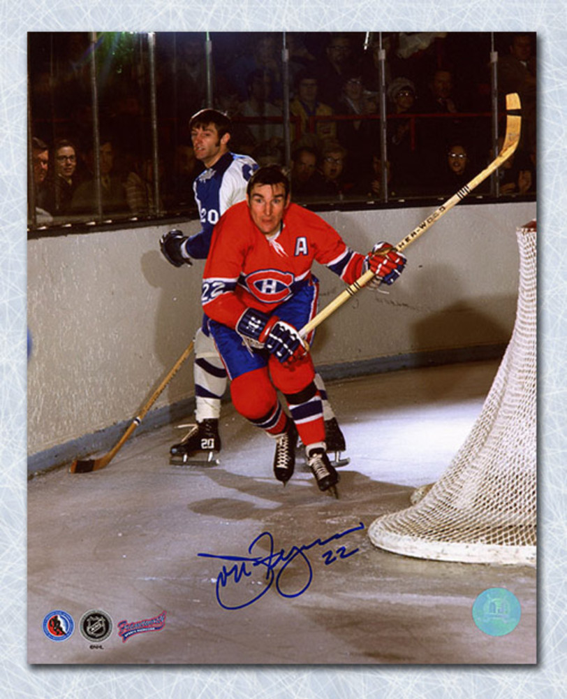 John Ferguson Montreal Canadiens Autographed Action 8x10 Photo