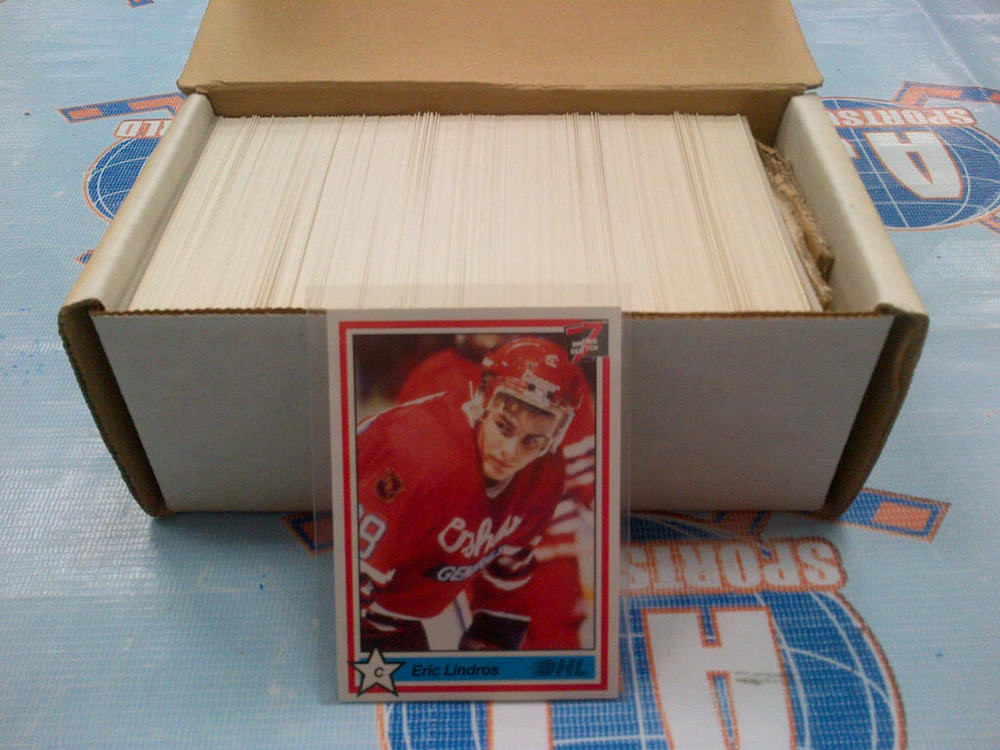 1991 OHL 7th Inning Sketch Set *1-400* *LINDROS, PECA, BRENT GRETZKY CARDS*