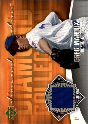Photo of 2006 Upper Deck Diamond Collection Materials #GM Greg Maddux Jsy