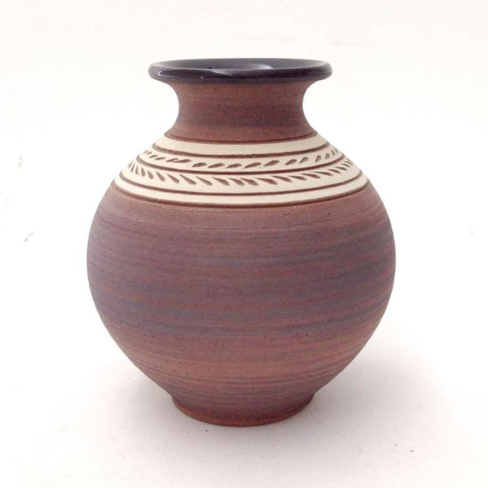 Hand Made Ceramic Vase Sculpture by Eugenijus Tamosiunas! Hand Signed by the Artist!