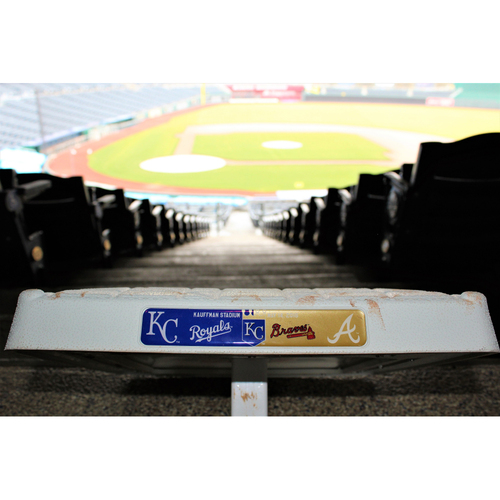 Photo of Game-Used 3rd Base (ATL@KC 5/14/16)