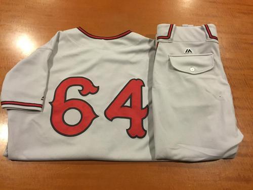 Photo of Tony Jaramillo Game-Used Cincinnati Tigers Uniform