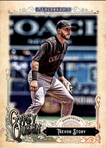 Photo of 2017 Topps Gypsy Queen #67 Trevor Story