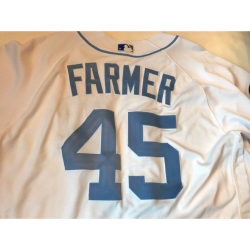 Photo of Game-Used Father's Day Jersey: Buck Farmer