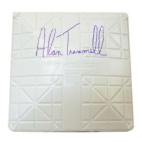 Photo of Detroit Tigers Alan Trammell Autographed Base