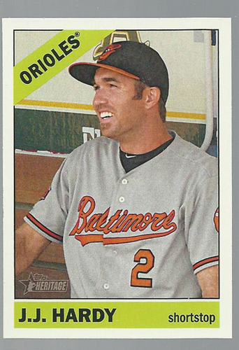Photo of 2015 Topps Heritage #271 J.J. Hardy