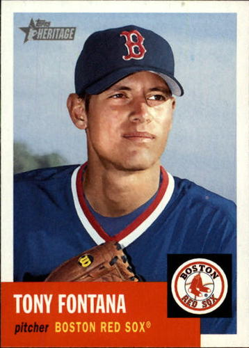Photo of 2002 Topps Heritage #417 Tony Fontana SP RC