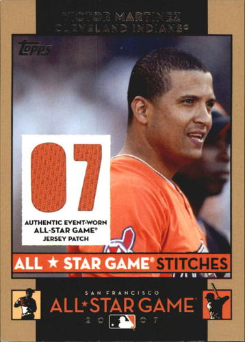 Photo of 2007 Topps Update All-Star Stitches #VM Victor Martinez